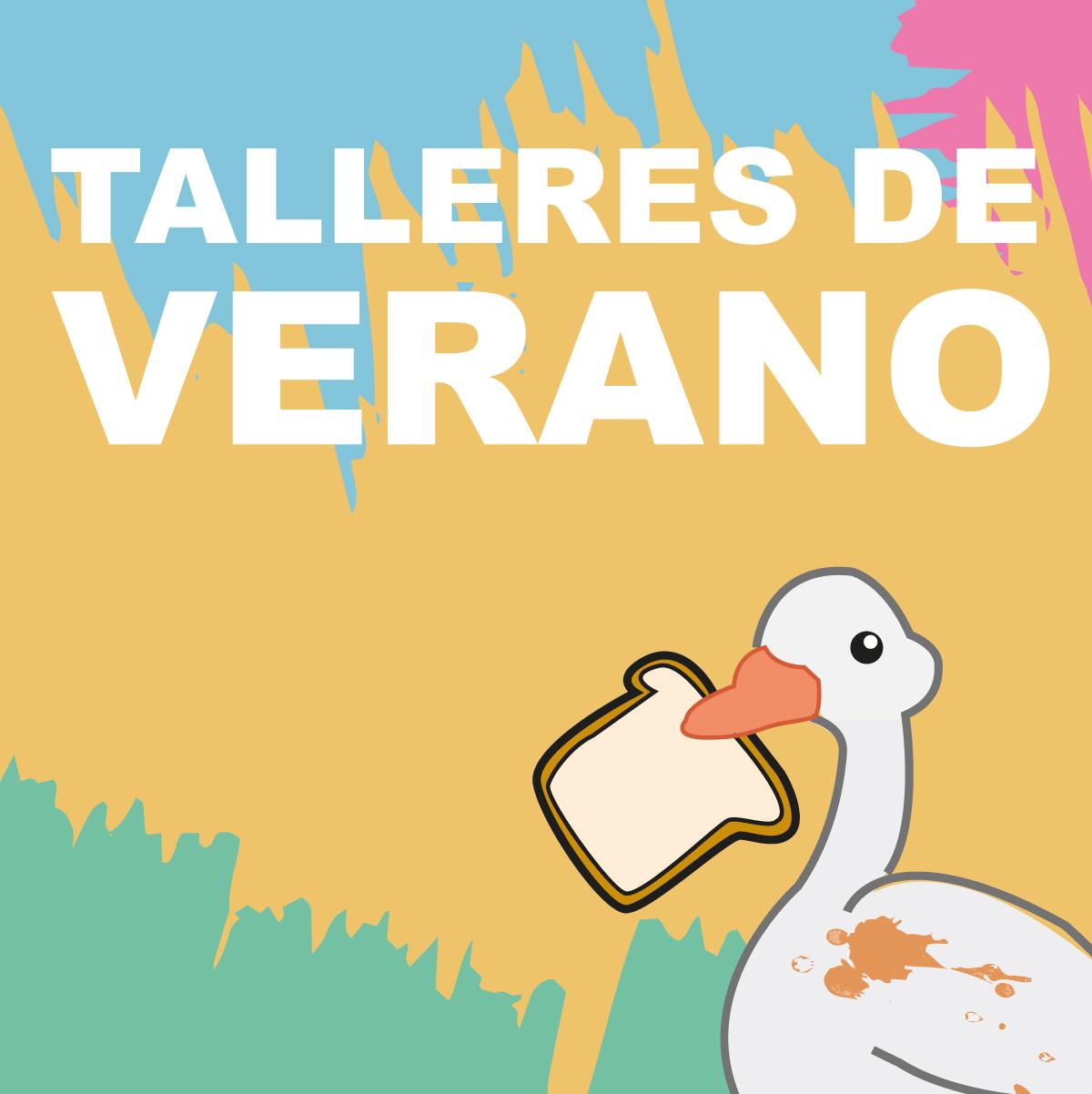 Talleres de verano de artes y manualidades para niñas y niños. Elda Petrer Alicante